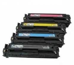 Зареждане на тонер касети HP CE320/1/2/3 –128A