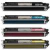 Възстановена тонер касета за HP CP1025 (CE310/1/2/3)